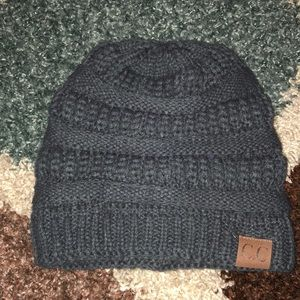 CC sweater beanie new